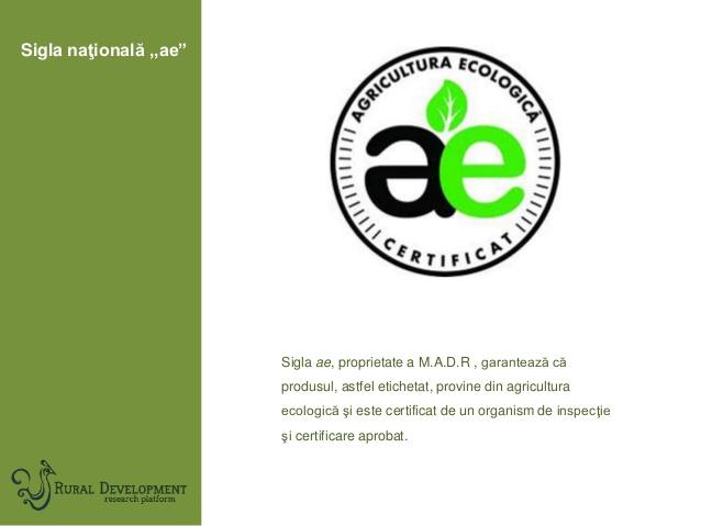 agricultura-ecologic-sigla nationala AE