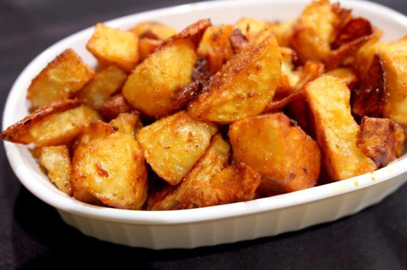Cartofi la cuptor cu paprika